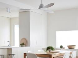 Weiss, elegant, energiesparend und leise – der neue Deckenventilator für…