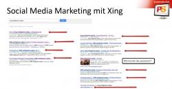Vertrauenswürdige Plattform Xing im geschäftlichen Bereich: digitale Visitenkarte mit Nabenhauer…