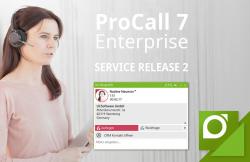 Jetzt verfügbar: Service Release 2 für UCC-Suite ProCall 7 Enterprise