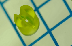 Mikro-3D-Druck von Düsen für die Spektroskopie