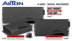 Modern, stark, günstig – AXTONs Digital-Verstärker