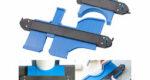 AGT 2er-Set Konturenlehre mit Feststell-Funktion