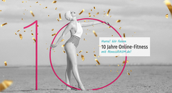 Jubiläum: fitnessRAUM.de wird 10 – Zeit zu feiern!
